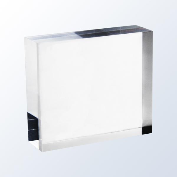 Acrylic clear block