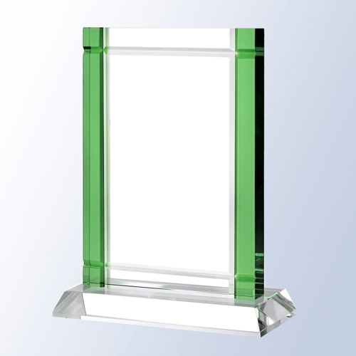Green Deco Crystal Base