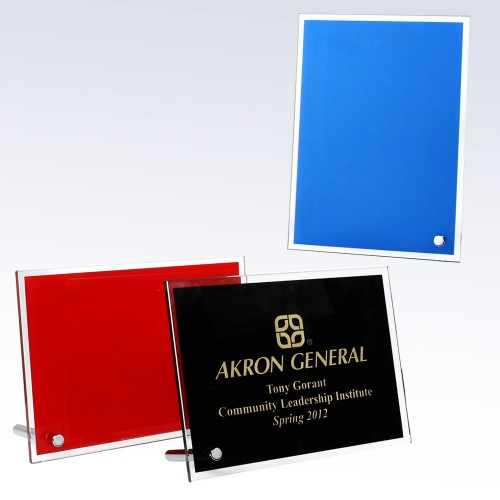 Red Chroma Plaque