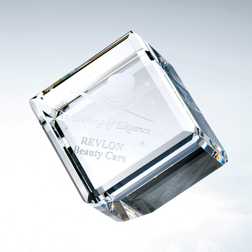 Beveled Diamond Cube Large