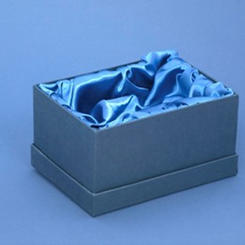 Satin lined presentation box for handmade items
