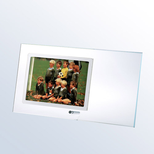 Starfire Clear Horizontal Photo Frame Large