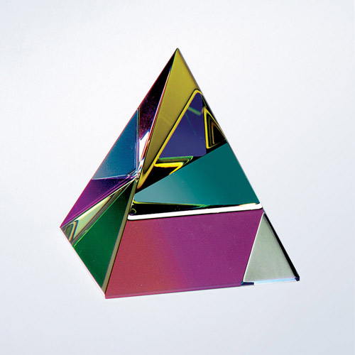 Pyramid-Colour Coated small