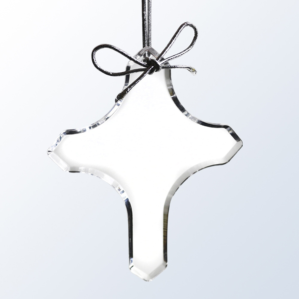 Acrylic Cross ornament